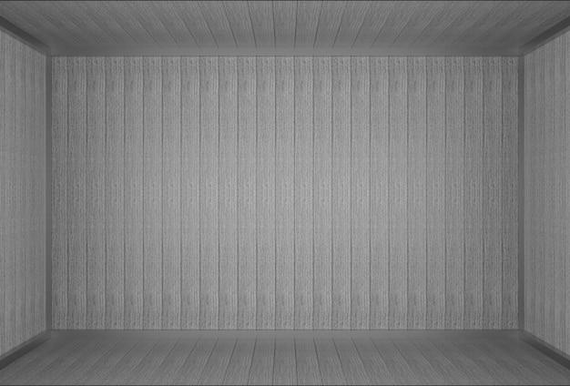 Sfondo di muro di pannelli di legno vecchio grigio scuro vintage.