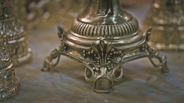 Vintage metallo inciso