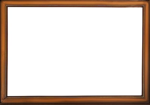 Cornice d'epoca con spazio bianco vuoto, copia spazio, posto per il testo.