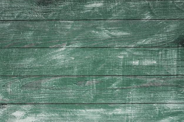 Trama di sfondo legno verde vintage