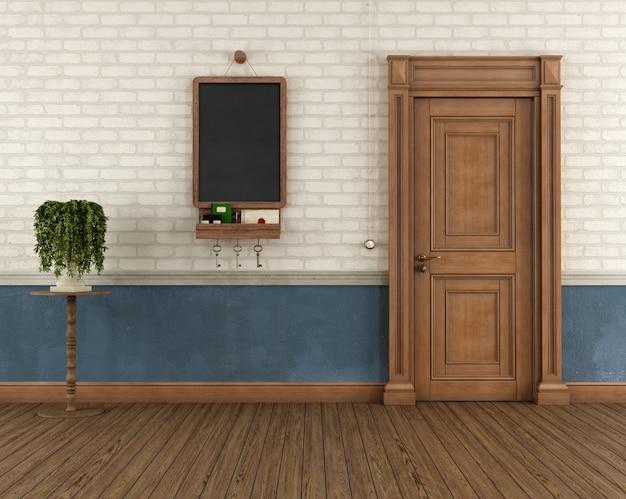 Ingresso casa vintage