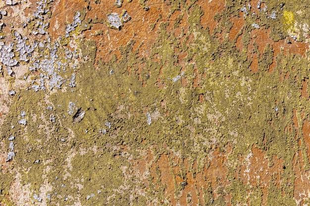 Trama di muro d'epoca. sfondo grunge con vernice maculata