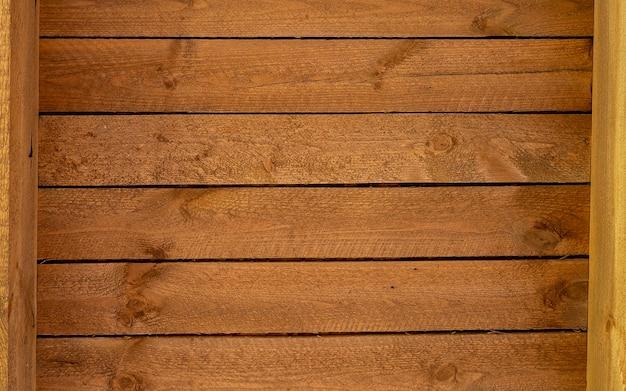 Fondo di legno d'annata di struttura con lo spazio della copia. vecchio fondo di legno strutturato del lerciume, la superficie della vecchia struttura di legno marrone, pannellatura di legno di teak marrone di vista superiore