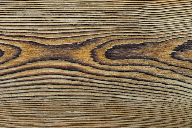 Struttura di legno vintage con vista dall'alto del primo piano dei nodi per lo sfondo