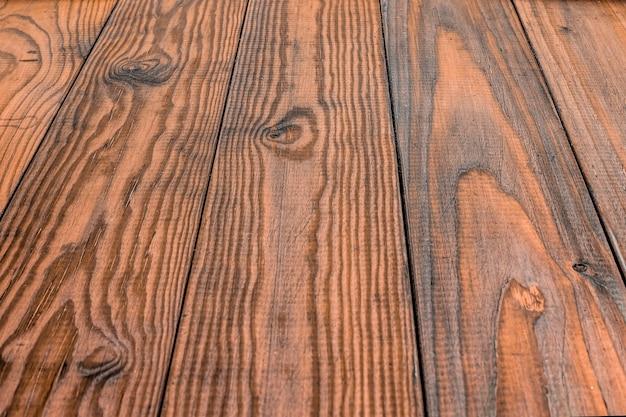 Sfondo in legno vintage con prospettiva