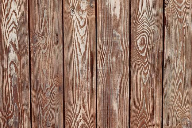 Plance di legno d'epoca dipinte di marrone