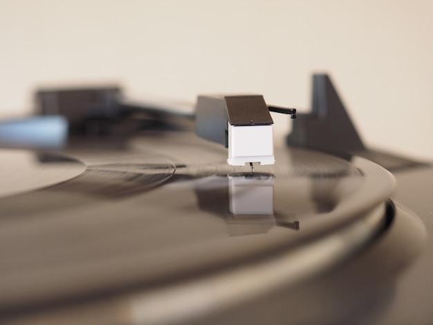 Filatura di dischi in vinile