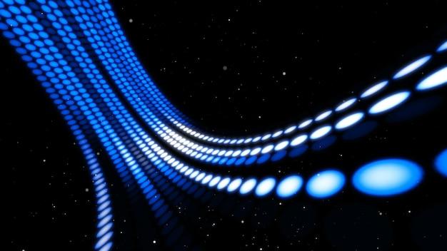 Flusso di dati visionario e trasferimento sul cyberspazio