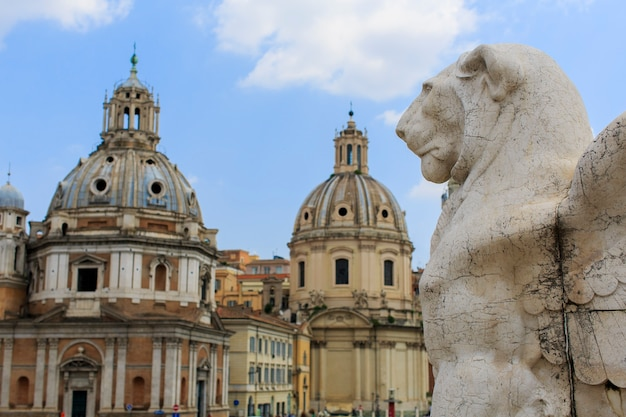 Vittoriano a roma, italia