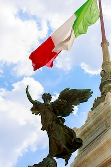 Vittoriano a roma, italia Foto Premium
