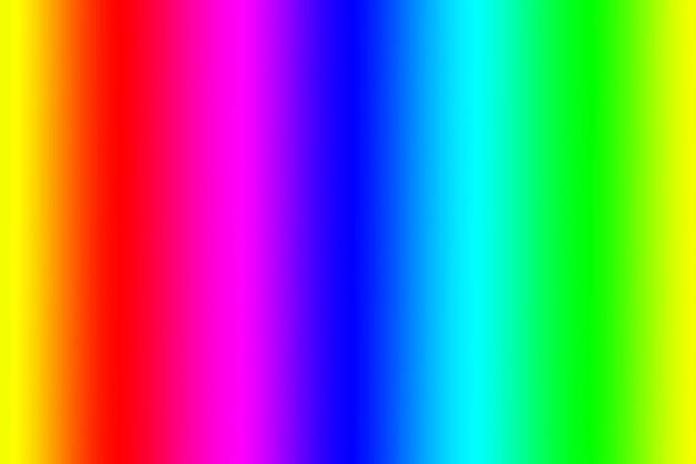 Sfondo astratto a strisce verticali di colore arcobaleno sfumato vivido