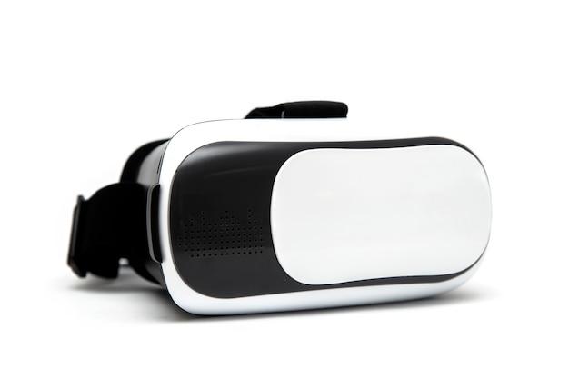 Vetri di realtà virtuale di vr isolati su fondo bianco