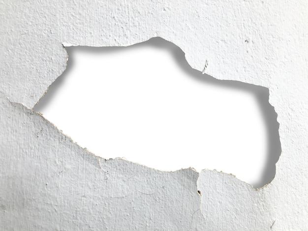 Crepe a parete e aree di copia
