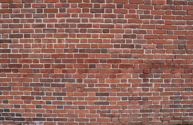 Muro di vecchi mattoni rossi. sfondo di mattoni. struttura