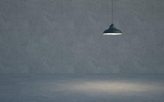 Interno della stanza della parete del soggiorno della casa, spazio vuoto della parete interna