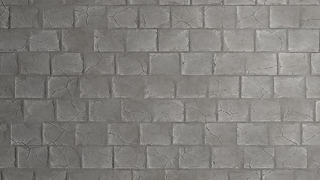 Rendering 3d di sfondo texture muro