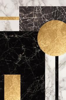 Carta da parati per la decorazione della cornice della parete geode in resina di marmo e arte astratta arte funzionale come l'acquerello