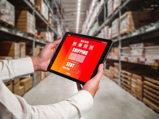 Software innovativo di gestione del magazzino su computer per il monitoraggio in tempo reale