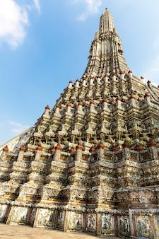 Wat arun a bangkok, in thailandia.
