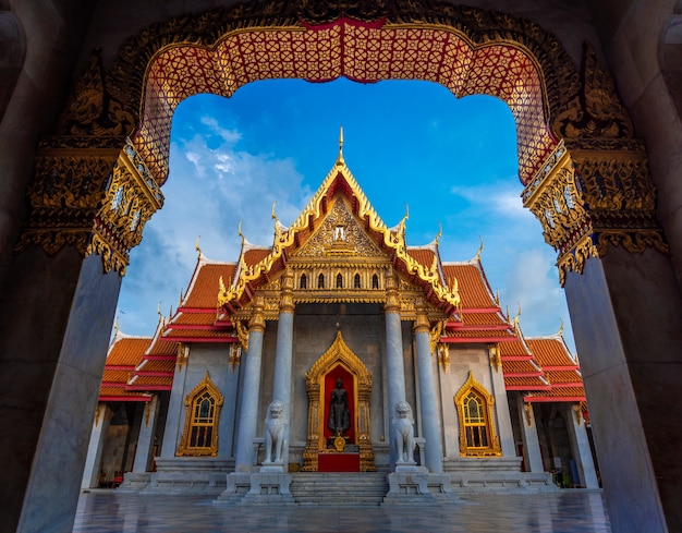 Wat benchamabophit, thailand (the marble temple)