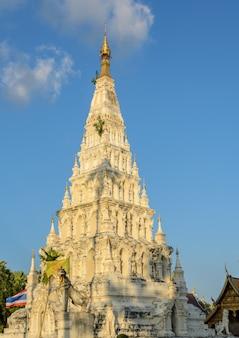 Wat chedi liam o wat ku kham in chiang mai, tailandia