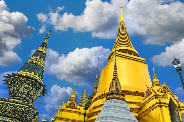 Tempio di wat phra kaew, bangkok, thailandia