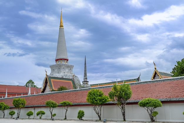 Wat phra mahathat nakhon si thammarat province thailandia