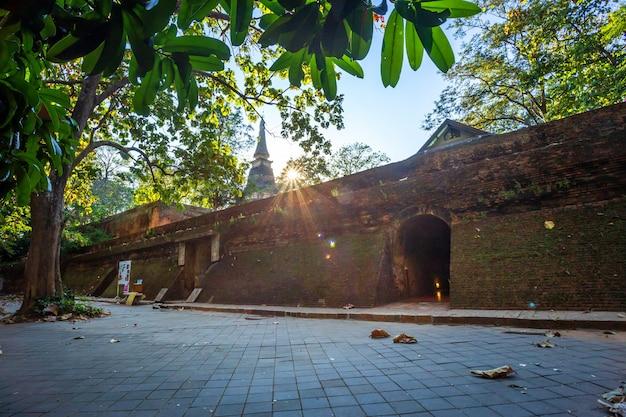 Wat umong suan puthatham è un tempio buddista a chiang mai, in thailandia.