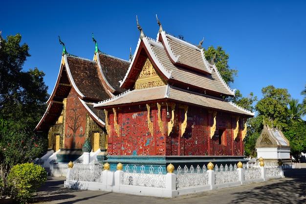 Tempio perizoma di wat xieng, luang pra bang, laos