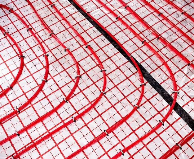 Impianto di riscaldamento dell'acqua e impianto di riscaldamento a pavimento