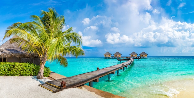 Water villas (bungalow) alle maldive