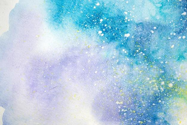 Pittura astratta dell'acquerello. disegno ad acquarello. priorità bassa di struttura delle macchie dell'acquerello.