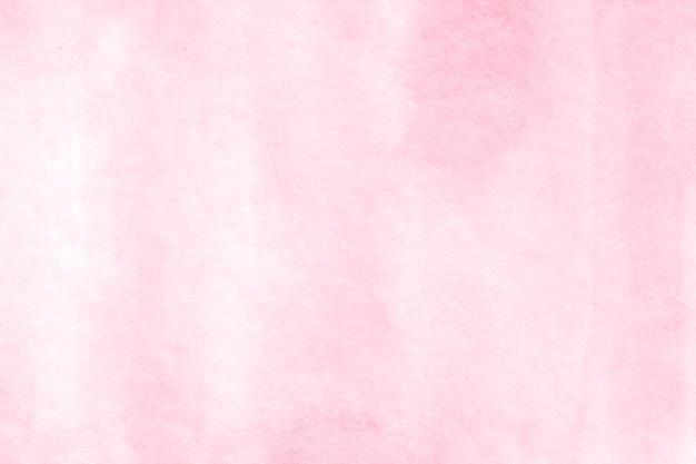 Fondo dell'acquerello, pittura rosa astratta dell'acquerello di arte sul fondo del libro bianco