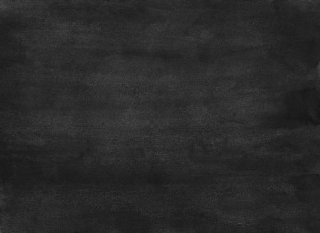 Trama di sfondo nero dell'acquerello