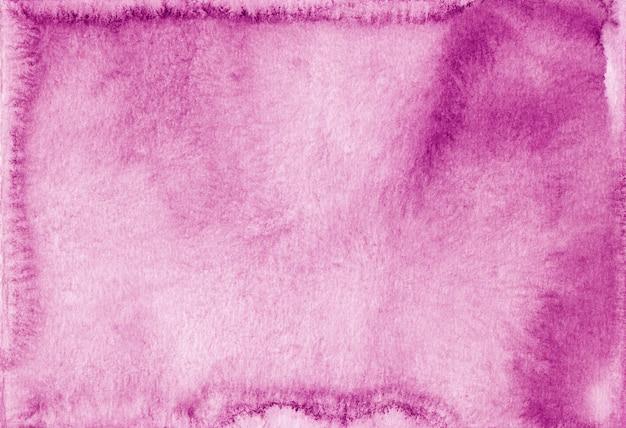 Acquerello rosa brillante e bianco sfondo texture pittura. sfondo di colore rosa acquerello vintage. macchie sulla carta.