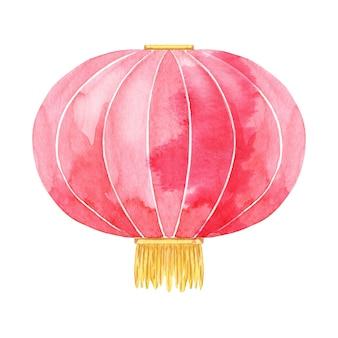 Lanterna cinese dell'acquerello