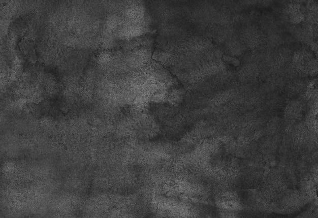 Trama di sfondo grigio scuro dell'acquerello