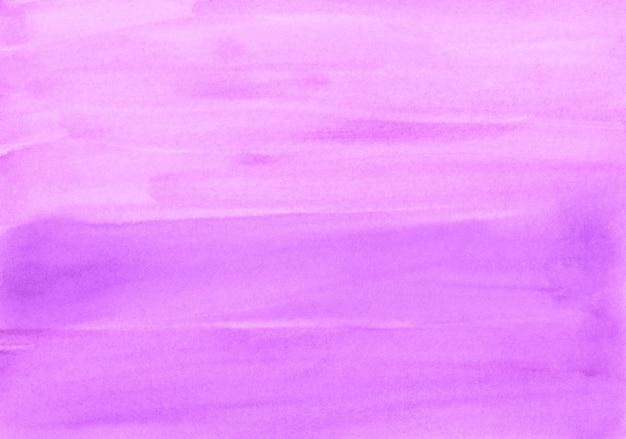 Struttura della pittura di sfondo fucsia dell'acquerello. sfondo sfumato rosa chiaro dell'acquerello. pennellate su carta.