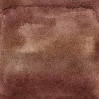 Acquerello sfumato sfondo marrone vino con pennellate punti macchie illustrazione disegnata a mano