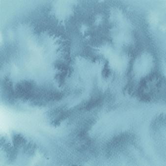 Acquerello sfondo di colore blu grigio.