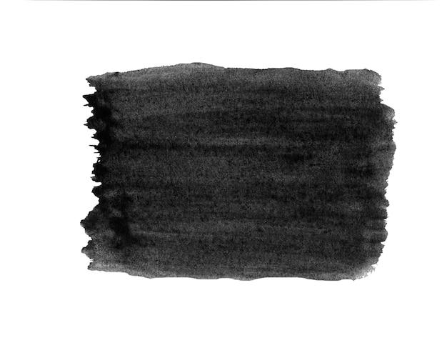 Acquerello grunge closeup sfondo nuvola isolato su bianco