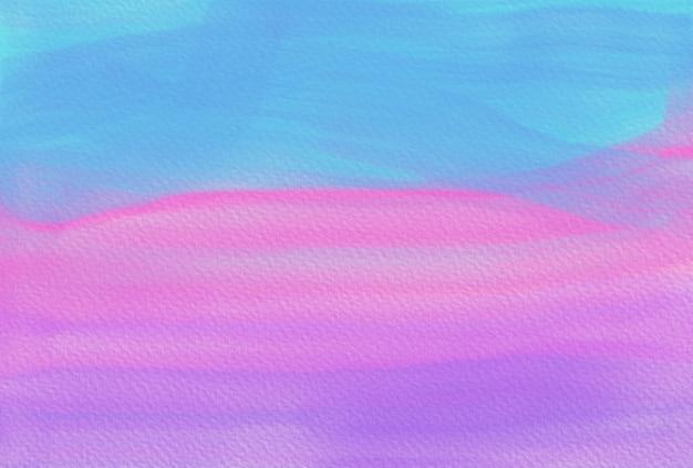 Trama di sfondo dipinto a mano dell'acquerello. sfondo smeraldo astratto aquarelle. modello orizzontale Foto Premium