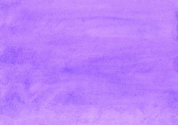 Trama di sfondo acquerello lavanda. fondo viola intenso dell'acquerello. macchie sulla carta.