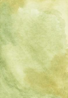 Sfondo verde chiaro dell'acquerello