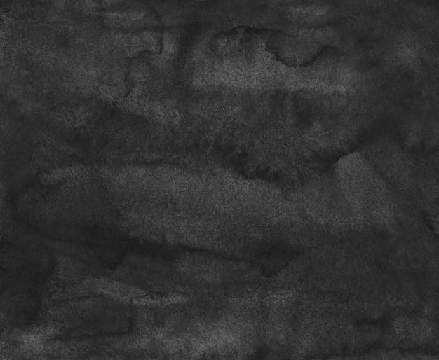 Trama di sfondo nero liquido dell'acquerello