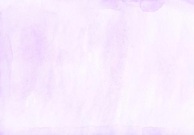 Lavanda disordinato dell'acquerello e sfondo bianco.