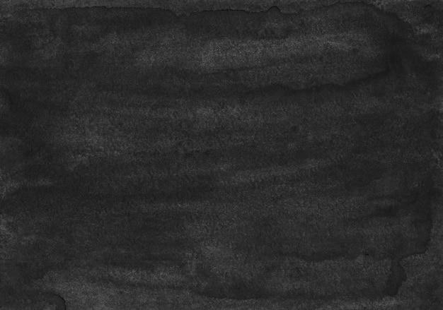 Vecchia struttura del fondo nero dell'acquerello