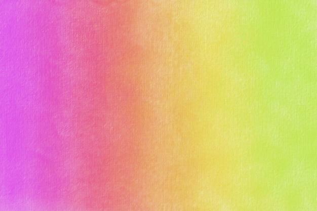 Fondo pastello dell'acquerello dipinto a mano. macchie colorate di acquerello su carta.