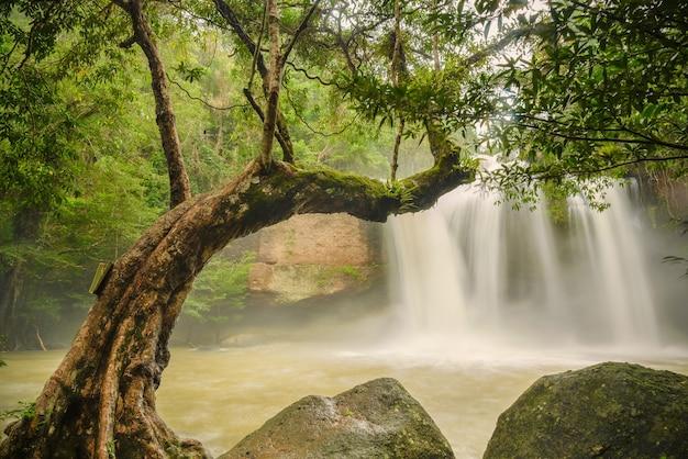 Cascata nella stagione delle piogge