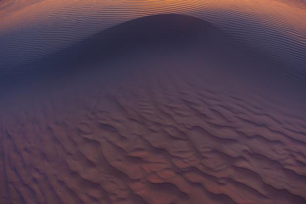 Onde di sabbia texture dune del deserto
